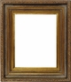 Wall Mirrors - Mirror Style #371 - 8X10 - Dark Gold