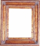 Wall Mirrors - Mirror Style #374 - 36x36 - Dark Gold