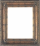 Wall Mirrors - Mirror Style #375 - 40x40 - Dark Gold