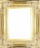 Wall Mirrors - Mirror Style #386 - 24X36 - Dark Gold