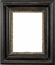 Wall Mirrors - Mirror Style #407 - 24x24 - Black & Gold