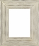 Wall Mirrors - Mirror Style #422 - 24X36 - White Wash