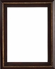 Wall Mirrors - Mirror Style #430 - 24x24 - Traditional Wood