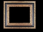 Art - Picture Frames - Oil Paintings & Watercolors - Frame Style #619 - 36x48 - Black & Gold - Black & Gold Frames