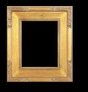 Art - Picture Frames - Oil Paintings & Watercolors - Frame Style #645 - 12x16 - Light Gold - Plein Air Frames