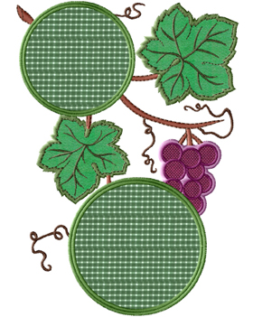 Grapevine Applique Frames