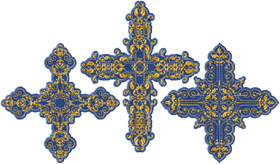 Applique Crosses