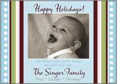 Jubiliee Soft Tones Photo Christmas Card
