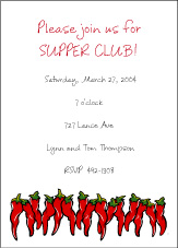 Chili Peppers Invitation