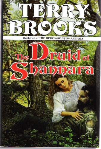 The Druid of Shannara By Terry Brooks ~ 1st Edition March 1991 Hardcover Book
