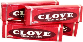 Adams Clove Gum 5 Sticks