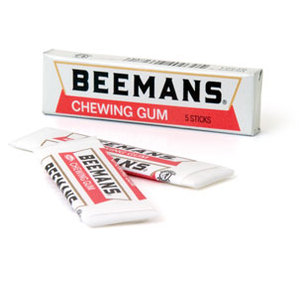Adams Beeman's Gum 5-Stick Pack