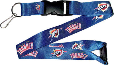 Oklahoma City OKC Thunder NBA Basketball Break Away Lanyard Keychain