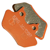 EBC Front or Rear Semi-Sintered (V) Brake Pads - FA409V For Harley Davidson