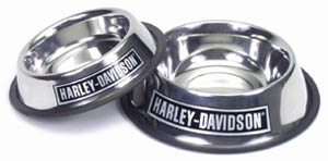 Harley-Davidson® Stainless Steel  Dog Bowl 16 ozs