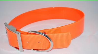 "1"" Plastic Coated Nylon Hunting Collars"