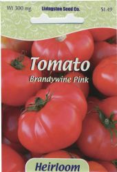 Brandywine Pink Heirloom Tomato Seeds