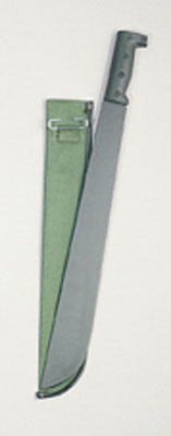 "18"" Steel Machete with Sheath"
