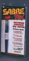 Sabre Red Pen Pepper Spray (0.36 oz/aprox. 15 shots)
