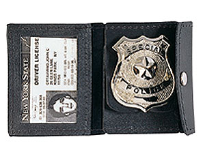 Leather I.D. and Badge Holder