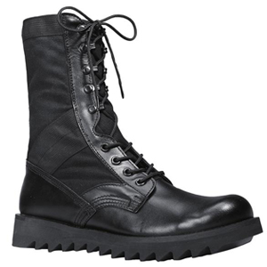 Rothco 5050 Ripple Sole Black Jungle Boot
