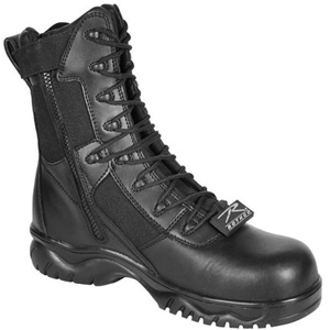 Rothco 5063 Forced Entry Composite Toe Side Zipper Tactical Boot