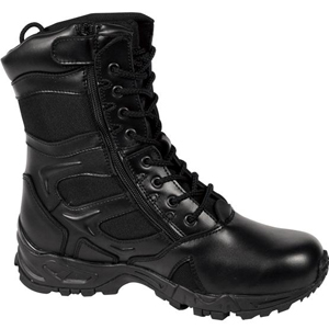 Rothco 5358 Forced Entry Black Side Zipper Deployment Boot