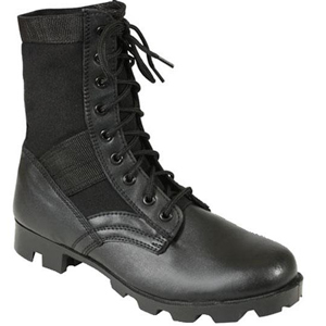 Rothco 5781 Steel Toe Black Jungle Boot