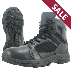Smith & Wesson SW17 Black Performance 6 Inch Side Zip Tactical Boots