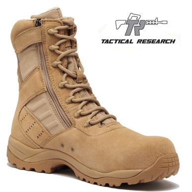 659946432e46 Tactical Research TR336 Z CT Guardian Lightweight Side Zip Composite Toe  Boot ...