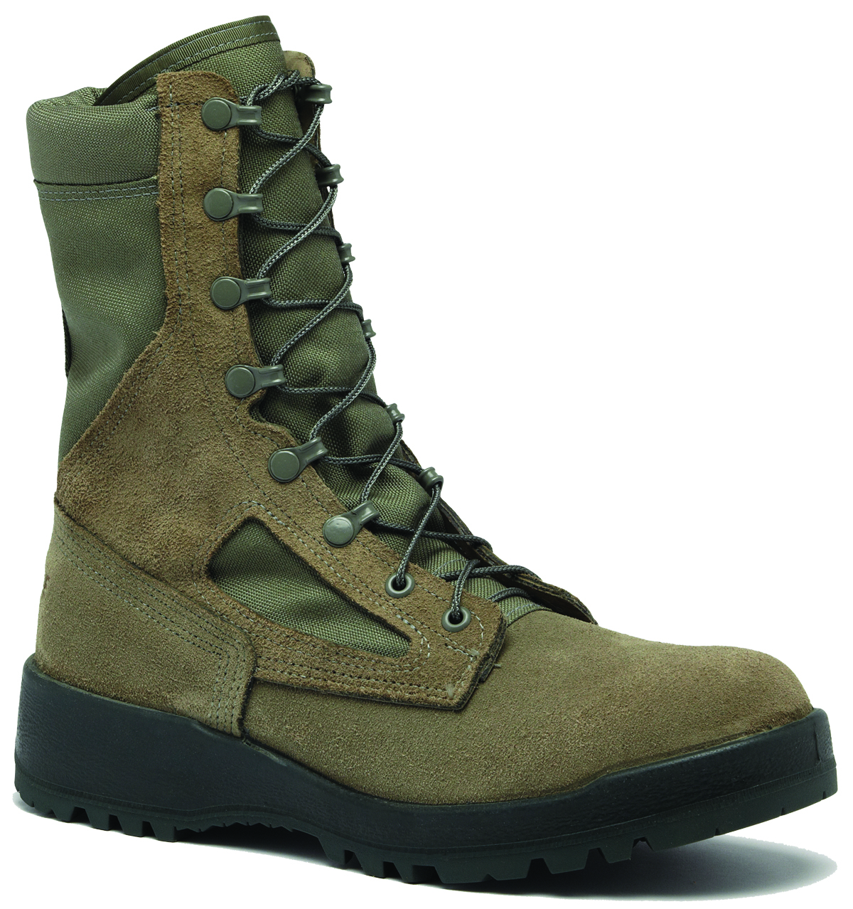 0a3ef76e2818 Steel Composite Toe Military Boots - Free Size Exchange