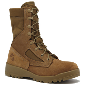 Belleville 550 ST Men's USMC Hot Weather Olive Tan Steel Toe Boot