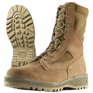 Wellco E114 USMC Mojave Hot Weather Steel Toe Combat Boot