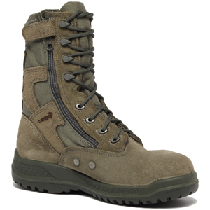 Belleville 610 Z ST Men's USAF Hot Weather Side Zip Steel Toe Military Boot