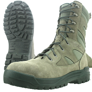 Wellco S479 Sage Green Signature Hot Weather Composite Toe Side Zip Combat Boot