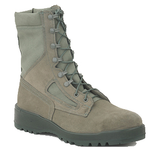 Altama 8550 Sage Green Hot Weather Safety Toe Combat Boots