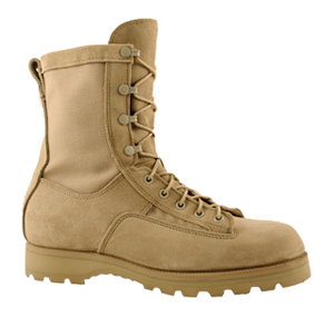 McRae 3286 Mil Spec Desert Tan Temperate Weather Combat Boots