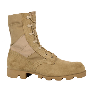 McRae 4189 Men's Hot Weather Desert Tan Military Boots