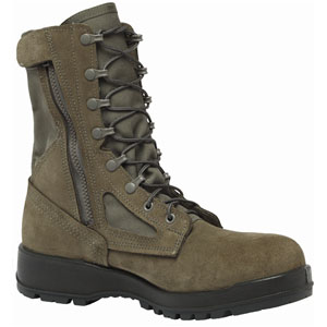 Belleville 639Z CT USAF Hot Weather Composite Toe Side Zip Boot