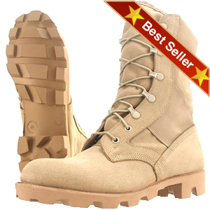 Wellco T130 Hot Weather Combat Boot - Free Shipping