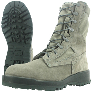 Wellco S140 Sage Green Hot Weather Flame Resistant Combat Boot