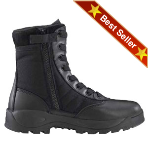 Original SWAT 1160 Classic 9 Inch Light Weight Safety Toe Side Zip Boot