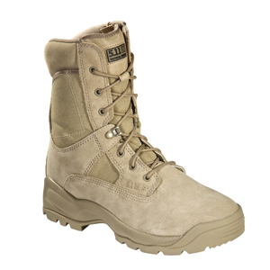 "5.11 ATAC 8"" Coyote Tan Side Zip Tactical Boot"