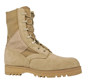 McRae 3187 Men's Mil Spec Desert Tan Hot Weather Boot