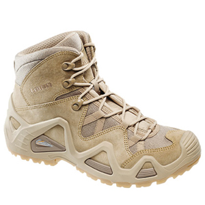 Lowa 3105370411 Men's Zephyr GTX Desert Tan Gore-Tex Waterproof Mid Boot