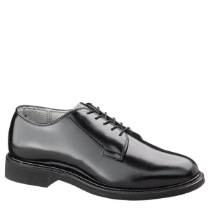 Bates E00932 Lites Men's Black Leather Uniform Oxford