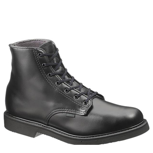 Bates E00058 Men's Lites 6in Leather Lace Up Uniform Boot