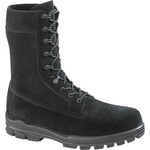Bates E01778 Women's 9in US Navy Suede DuraShocks Steel Toe Boot