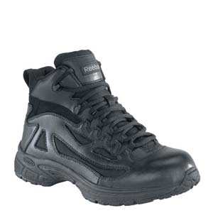Reebok RB8400 Men's Rapid Response Black 4in Mid Boot