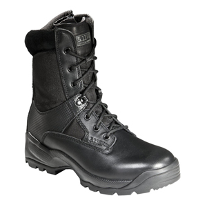 "5.11 ATAC 8"" Storm Black Side Zip Tactical Boot"